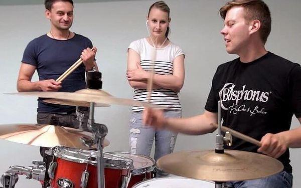 Hra na bicí soupravu | Kolín | celoročně | 2,5 hodiny vč. instruktáže2