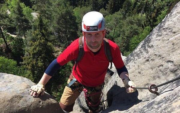 Kurz lezení via ferrat bezpečně   Dolní Světlá   květen – říjen   4 - 5 hodin5