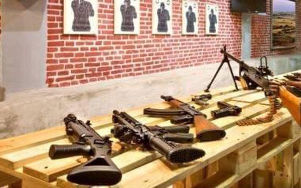 Střelba z armádních pušek | Praha | celoročně | do 1 hodiny3