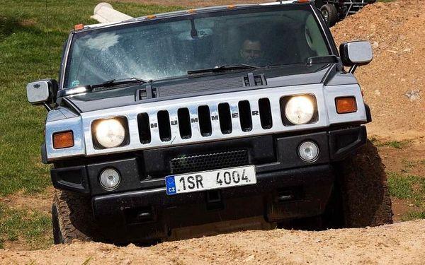 Jízda v Hummeru H2 – 30 minut   Příbram   celoročně (dle počasí)   30 minut + instruktáž3