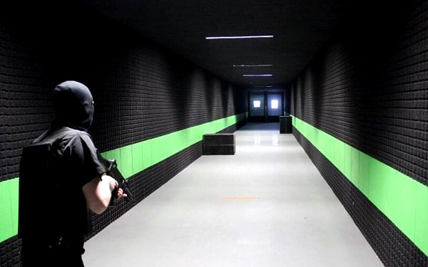 Profesionální výcvik střelby