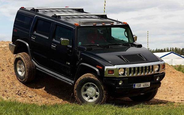 Jízda v Hummeru H2 – 30 minut   Příbram   celoročně (dle počasí)   30 minut + instruktáž4