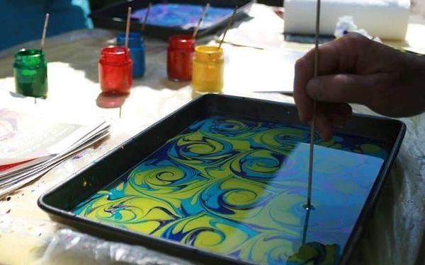 Ebru - Kouzlo turecké malby na vodní hladině | Lichnov | celoročně | 3 hodiny4