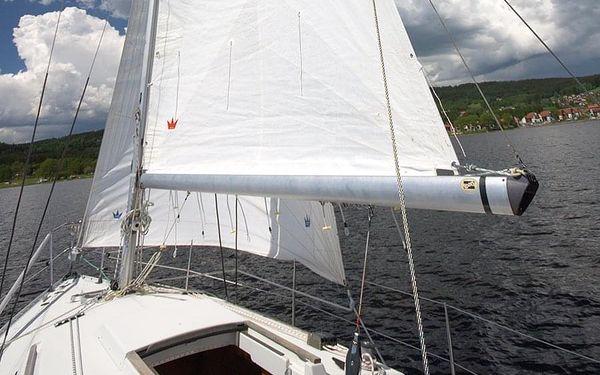Pobyt na plachetnici | Lipenská přehrada | květen - 15. říjen. | 3 dny/2 noci.4