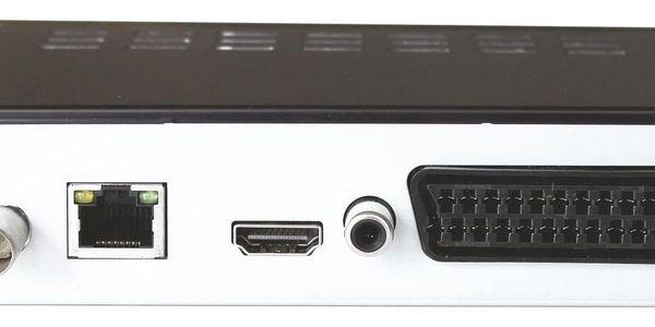 Set-top box Maxxo T2 HEVC/H.265 + wifi adaptér černý2