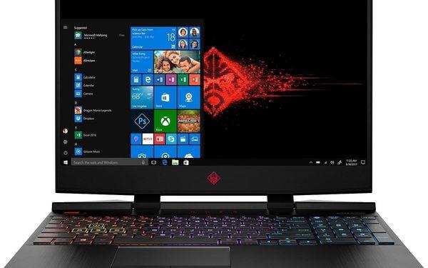 Notebook HP Omen 15-dc1600nc (8NF28EA#BCM) černý + DOPRAVA ZDARMA5