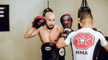 MMA trénink s profi zápasníkem