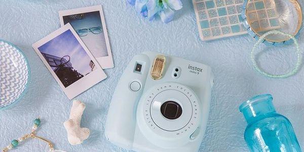 Digitální fotoaparát Fujifilm Instax mini 9 + pouzdro modrý2