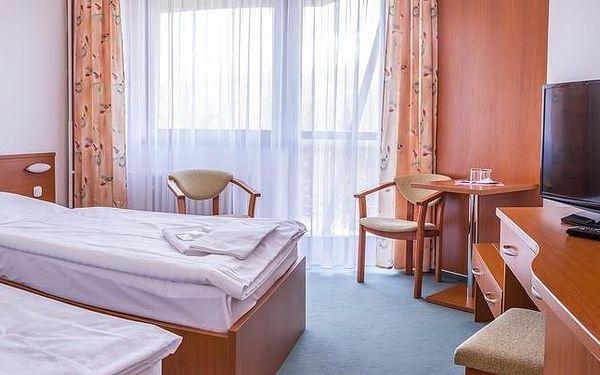 Dvoulůžkový pokoj s oddělenými postelemi a balkonem4