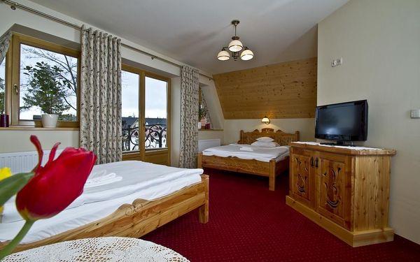 Čtyřlůžkový pokoj se 2 manželskými postelemi4