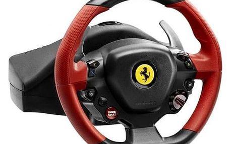 Volant Thrustmaster Ferrari 458 Spider pro Xbox One, One X, One S, Series + pedály (4460105) černý + DOPRAVA ZDARMA