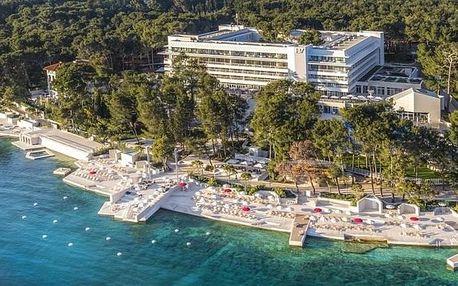 Chorvatsko - Lošinj na 4 dny, snídaně s dopravou vlastní, 50 m od pláže
