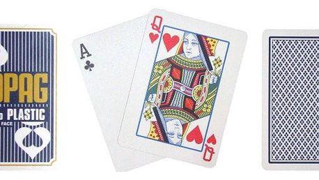 Copag Regular 2079 Poker karty 2 rohy modré