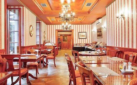 4chodové degustační menu na zámku