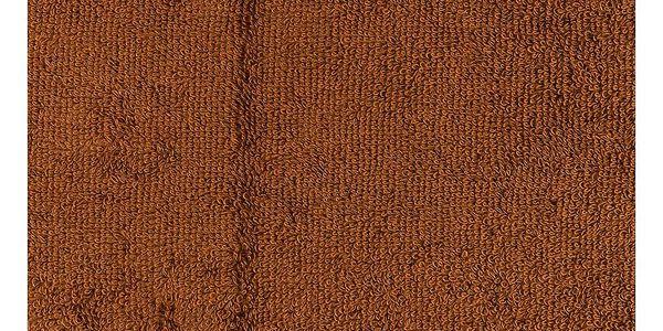 4Home Sada Bamboo Premium osuška a ručník hnědá, 70 x 140 cm, 50 x 100 cm4