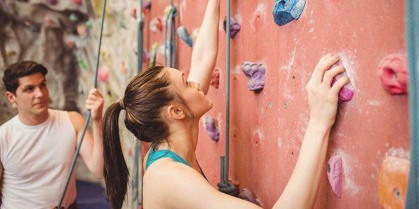 Dobrodružství na stěně: kurz či vstup pro dva