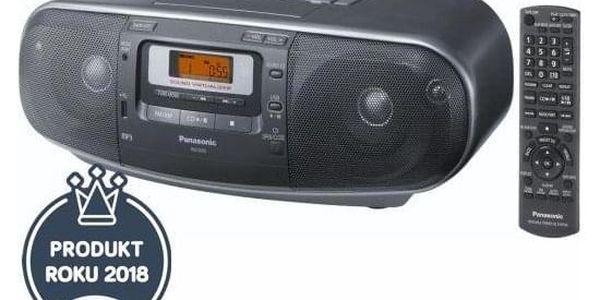 Radiomagnetofon s CD Panasonic RX-D55AEG-K černý2