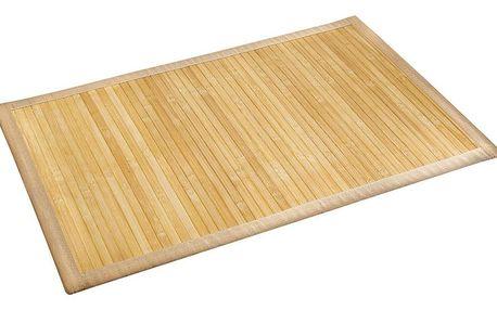 WENKO Podložka bambusová BAMBOO, koupelnový kobereček