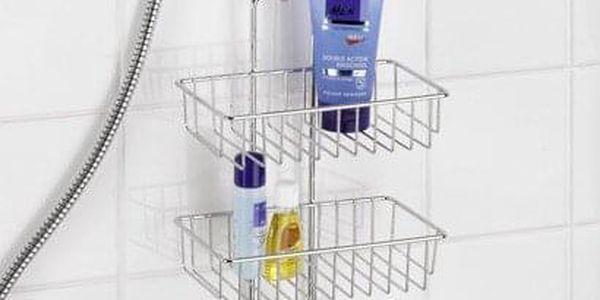 Koupelnová police do sprchy NIVALA, 3 úrovně, WENKO3