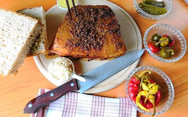 Královská žebírka v medové marinádě a směsi koření s kváskovým chlebem5