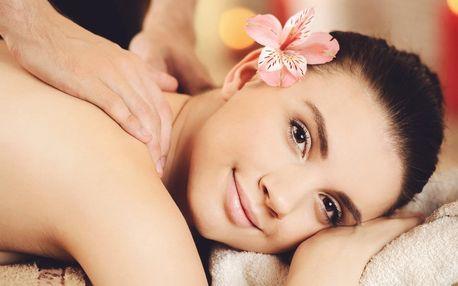 Hodinová masáž dle výběru ze 4 druhů