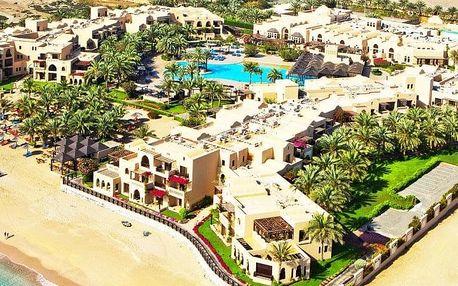 Spojené arabské emiráty - Fujairah na 6 dní, polopenze s dopravou letecky z Prahy, přímo na pláži