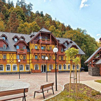 Plná penze a procedury pro 1 osobu na Slovensku v lázních Červený Kláštor