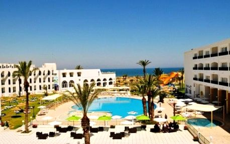 Tunisko - Skanes na 8 dní, all inclusive s dopravou letecky z Prahy, přímo na pláži