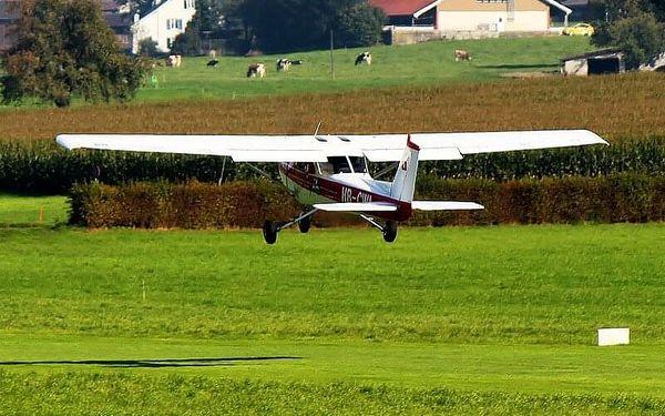 Vyhlídkový let letadlem Cessna 207 30 minut3