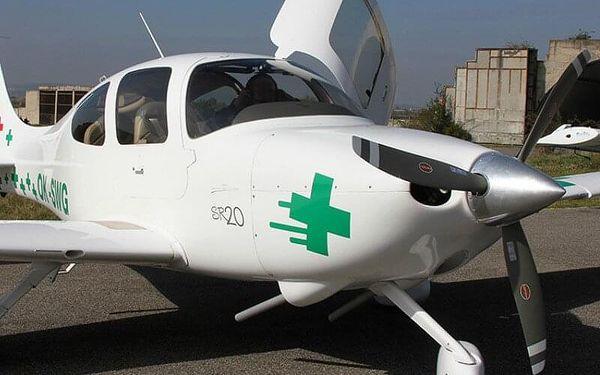 Vyhlídkový let letadlem Cirrus SR20 30 minut2