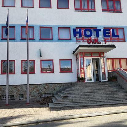 Beroun, Koněpruské jeskyně: Hotel O.K. 1