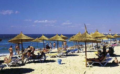 Tunisko - Sousse na 4 až 8 dní, all inclusive s dopravou letecky z Prahy, přímo na pláži