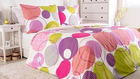 Povlečení Estepona 140x200 a 70x90 cm, bavlna