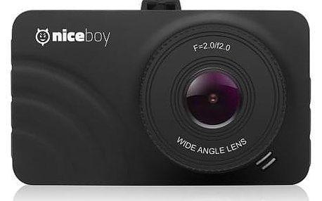 Autokamera Niceboy PILOT Q1, FULL HD, WDR, záběr 140° - ★ Dodatečná sleva v košíku 5 %