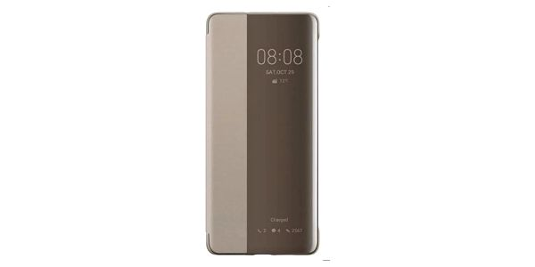 Pouzdro pro Huawei P30 PRO Smart View, khaki - ★ SLEVA ve výši DPH - najdeš ji v košíku! + SLEVA DPH v KOŠÍKU