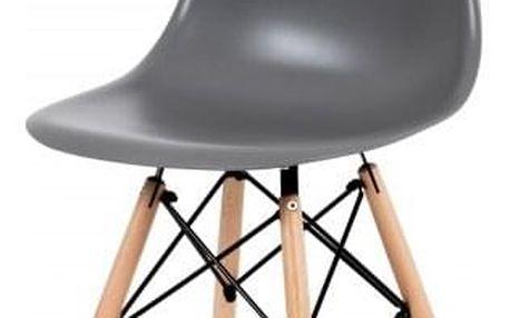 Mila - Jídelní židle šedá