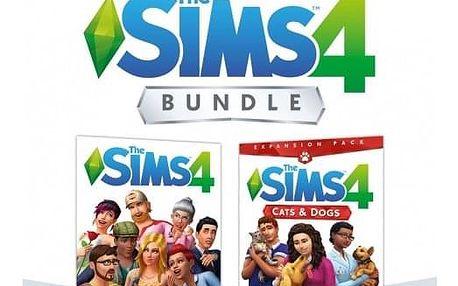 Hra EA Xbox One The Sims 4 Základní hra + Psi a Kočky (EAX372903)