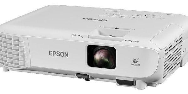 Projektor Epson EB-S05 (V11H838040) bílý3
