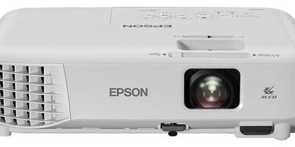 Projektor Epson EB-S05 bílý (V11H838040)