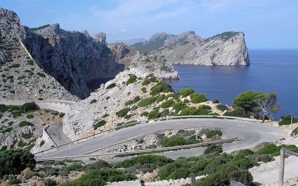 Přírodní krásy a kultura Mallorcy - letecky, Baleárské ostrovy, Španělsko, letecky, polopenze