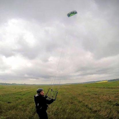 Jednodenní land-kite kurz