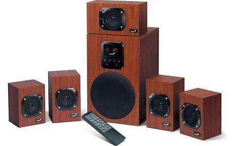 Reproduktory Genius SW-HF 4800 5.1 imitace dřeva (31731048100)