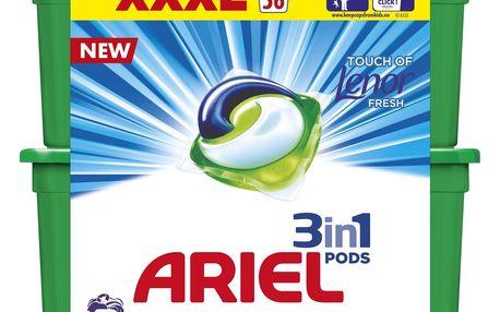 ARIEL Touch of Lenor Fresh 3v1 -gelové Kapsle (56 ks)