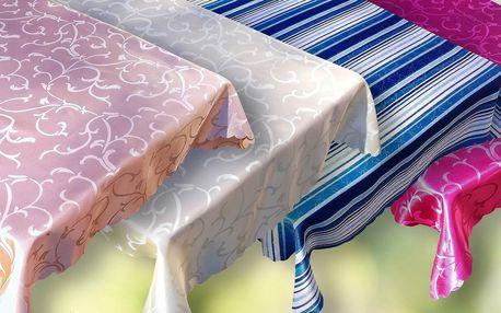 Ubrusy potažené teflonovou vrstvou proti skvrnám