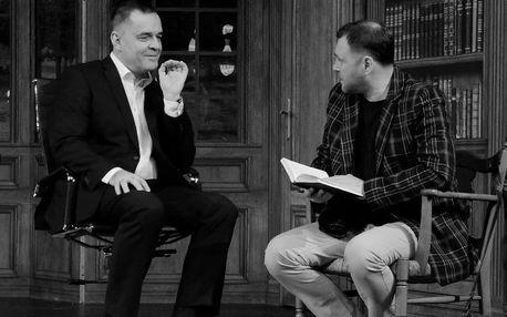 Vstupenky na divadelní thriller s Miroslavem Etzlerem