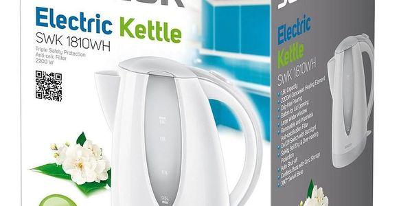 Sencor SWK 1810WH rychlovarná konvice bílá 1,8 l, 400324832
