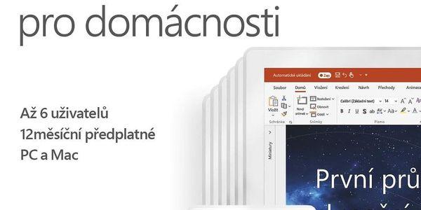 Software Microsoft 365 pro rodiny CZ (6GQ-00898) + DOPRAVA ZDARMA2