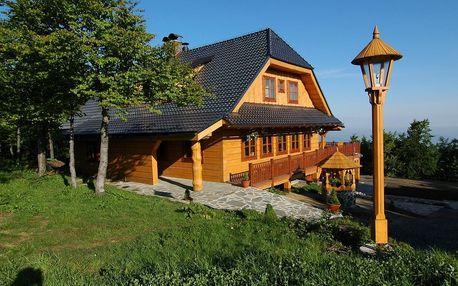 Pustevny: Hotel Mamenka v blízkosti Stezky Valaška