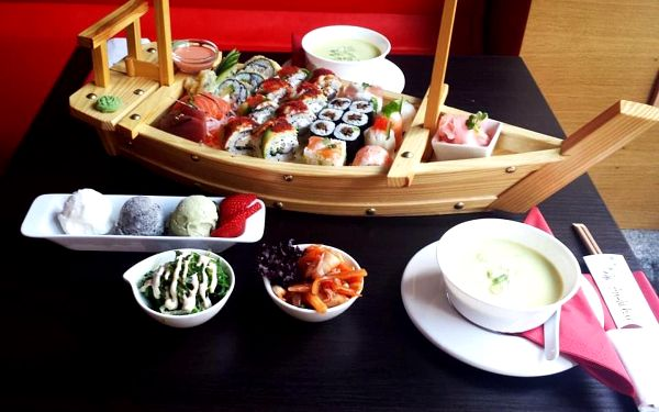 Sushi bar Made in Japan - degustační menu pro dva3