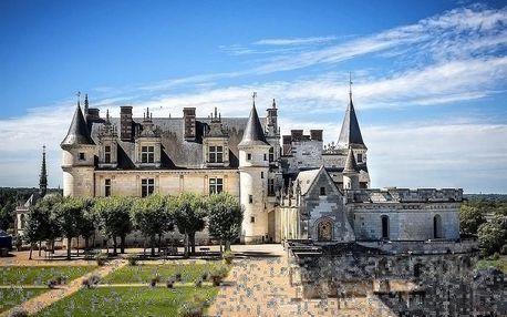 Pohádkové zámky na Loiře, romantická Paříž a Šifra Mistra Leonarda